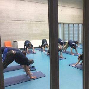 sfeerbeelden evenement gezondheidsdag 2018: yoga