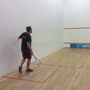 sfeerbeelden evenement gezondheidsdag 2018: squash
